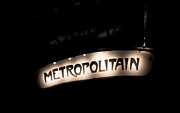 Metropolitain Framed Prints - Retro Metro Framed Print by Anthony Doudt