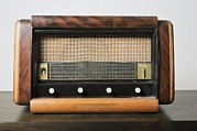 Vintage Appliance Posters - Retro Schneider Radio Receiver Poster by Photostock-israel