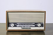 Vintage Appliance Posters - Retro Telefunken Radio Receiver Poster by Photostock-israel