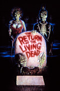 Living Dead Framed Prints - Return Of The Living Dead, Poster Art Framed Print by Everett