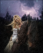 Guinevere Metal Prints - Return To Camelot Metal Print by Sally Carpenter
