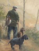 Spaniels Originals - Returning Home by Vicki Norman