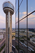 Reunion Tower Print by Jeremy Woodhouse