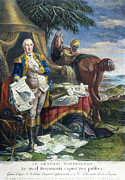 Declaration Of Independence Prints - Rev. War: Yorktown, 1781 Print by Granger