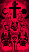 Kenal Louis Framed Prints - Revelation 666 Framed Print by Kenal Louis