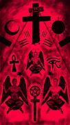 Revelation 666 Print by Kenal Louis
