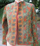 India Tapestries - Textiles - Reversible Jackets by Banjara tribal Patchwork bags