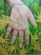 Palmistry Art - Revisited Fate by A Vimla Dindoyal