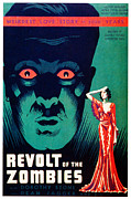1936 Movies Prints - Revolt Of The Zombies, 1936 Print by Everett