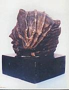 Hands Sculptures - Revolution - II - side view by Rooma Mehra