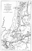 New York City Map Posters - Revolutionary War Plan Poster by Granger