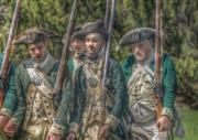 Militaria Prints - Revolutionary War Soldiers 1 Print by Randy Steele