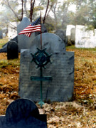 Graveyard Paintings - Revolutionary War Vet by Paul Sachtleben