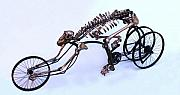 Bicycle Art Sculptures - REvolve by Jud  Turner