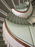 Bent Photos - Revolving Stairs by Photo By Dasar