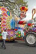 Pleading Metal Prints - Rex Mardi Gras Parade III Metal Print by Steve Harrington
