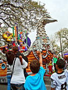 Pleading Metal Prints - Rex Mardi Gras Parade VI Metal Print by Steve Harrington