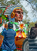 Pleading Metal Prints - Rex Mardi Gras Parade VII Metal Print by Steve Harrington