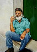 Cuba Art - Reynaldo by Carla Nickerson