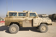 Static Posters - Rg-31 Nyala Armored Vehicle Poster by Terry Moore