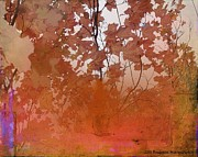 Burnt Digital Art Originals - Rhapsody Autumn by Brigetta  Margarietta