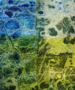 Montage Mixed Media - Rhapsody of Colors 4 by Elisabeth Witte - Printscapes