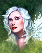 Faery Digital Art - Rhonwen by Lindsey Cormier