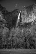 W B Black - Ribbon Falls Yosemite