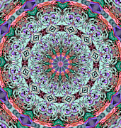 Kaleidoscope Photos - Ribbons and Lace by Kristin Elmquist
