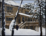Edward Williams Art - Ricca Lodge by Edward Williams