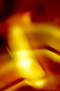 Motion Prints - Rich Gold Print by Scott Norris