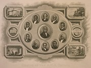 African-americans Photo Framed Prints - Richard Allen 1760-1831 And Other Framed Print by Everett