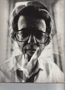 Photographers Fayette Posters - Richard Avedon Poster by Corky Willis Atlanta Photography