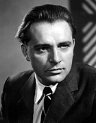 1950s Portraits Photo Metal Prints - Richard Burton, 1950s Metal Print by Everett