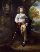Bat Boy Paintings - Richard Heber by John Singleton Copley