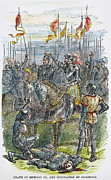 Richard IIi At Bosworth Print by Granger