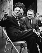 Bh History Framed Prints - Richard Rodgers And Oscar Hammerstein Framed Print by Everett