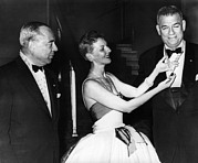 1950s Candids Photos - Richard Rodgers, Mary Martin, And Oscar by Everett