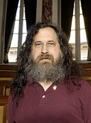 Programming Posters - Richard Stallman, Software Developer Poster by Volker Steger