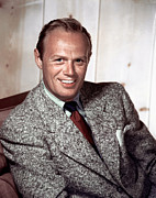 1950s Fashion Framed Prints - Richard Widmark, C. 1940-1950s Framed Print by Everett