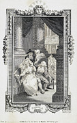 1785 Prints - Richardson: Pamela, 1785 Print by Granger