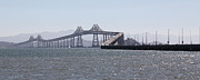 San Rafael Bridge Prints - Richmond-San Rafael Bridge in California - 5D18433 - Long Print by Wingsdomain Art and Photography