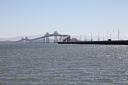 San Rafael Bridge Prints - Richmond-San Rafael Bridge in California - 5D18435 Print by Wingsdomain Art and Photography