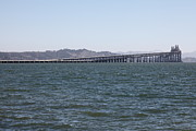 Greenbrae Framed Prints - Richmond-San Rafael Bridge in California - 5D18457 Framed Print by Wingsdomain Art and Photography