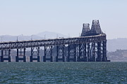 San Rafael Bridge Posters - Richmond-San Rafael Bridge in California - 5D18461 Poster by Wingsdomain Art and Photography