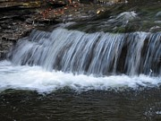 Skating Photos - Ricketts Glen Waterfall 4082 by David Dehner
