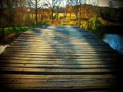 Rickety Bridge Print by Joyce  Kimble