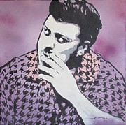 Boys Drawings Posters - Ricky - Robb Wells - Trailer Park Boy Poster by Eric Dee