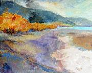 River Mixed Media - Ricky Point I by Peggy Wilson