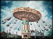 Swing Digital Art Prints - Ride the Sky Print by Tammy Wetzel